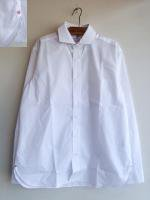 Widespread Collar Shirt White Broadcloth/Workers
