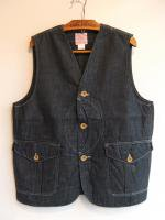 Cruiser Vest, Denim/Workers