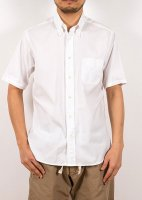 Short Sleeve BD, Pin OX, White/Workers