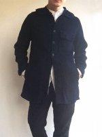 ケープカラーインディゴジャケット(メンズS)capecollar indigo jkt/DjangoAtour ANOTHERLINE