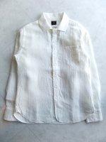 リネンイージーシャツ ホワイト linen easy shirt 2015 white/DjangoAtour<img class='new_mark_img2' src='https://img.shop-pro.jp/img/new/icons48.gif' style='border:none;display:inline;margin:0px;padding:0px;width:auto;' />