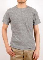 ポケットTシャツグレーPocket T,Gray/Workers