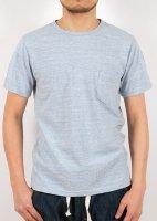 ポケットTシャツ ブルー Pocket T, Blue/Workers