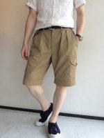グルカショーツ ベージュ Ghruka Shorts,Beige/Workers
