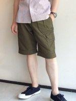 グルカショーツ オリーブ Ghruka Shorts,Olive/Workers