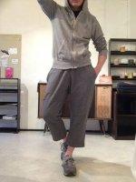 スウェットジョッパーズ 杢グレー(メンズM)sweat jodhpurs mokugrey/DjangoAtour ANOTHERLINE