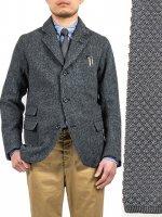 シルクニットタイ グレー Silk Knit Tie Grey/Workers<img class='new_mark_img2' src='https://img.shop-pro.jp/img/new/icons48.gif' style='border:none;display:inline;margin:0px;padding:0px;width:auto;' />