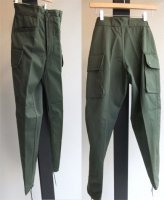 1980's Dead Stock French Military Pants Khaki