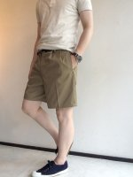 1980's Dead Stock Italian MIlitary Chino Shorts Beige