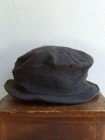 シュバリエ リネンハット チャコール chevalier hat charcoal/DjangoAtourジャンゴアトゥール<img class='new_mark_img2' src='https://img.shop-pro.jp/img/new/icons48.gif' style='border:none;display:inline;margin:0px;padding:0px;width:auto;' />