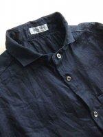 classic frenchwork herringbone indigolinen shirt deepindigo/DjangoAtour ANOTHERLINE<img class='new_mark_img2' src='https://img.shop-pro.jp/img/new/icons48.gif' style='border:none;display:inline;margin:0px;padding:0px;width:auto;' />