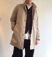 フライフロントUKコート ベージュ flyfront UK coat beige/DjangoAtour