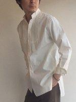 クラシックデタッチャブルカラーシャツ ホワイト classic detachablecollar shirt white/DjangoAtour ANOTHERLINE