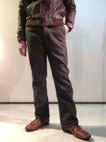 DAファクトリーウールパンツ チャコール da factory wool pants charcoal/DjangoAtour