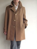 1960's French Mods Style Coat Brown