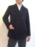 1940's German Wool Tailored Jacket Black