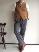 DAファクトリーウールパンツ グレー da factory wool pants grey/DjangoAtour