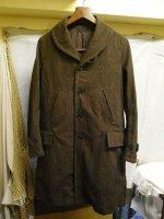 victorians shawlcollar wool coat mixolive/DjangoAtour ANOTHERLINE