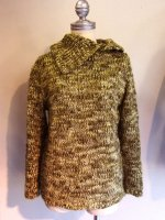 1980-1990's French Hand Knit Lemon Yellow