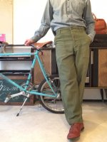 1970's U.S Military Baker Pants Khaki 表記サイズ30×29