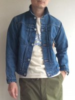 【30%OFF】Denim Jacket, Type 1, 13.75 Oz Denim, Washed(メンズ36)/Workers