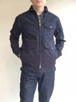 Flight Jacket, High Count Twill Navy(メンズ36)/Workers