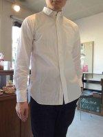 DAスタンダードシャツ ホワイト da standard shirt white/DjangoAtour