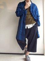 classic frenchwork indigolinen coat blueindigo/DjangoAtour ANOTHERLINE