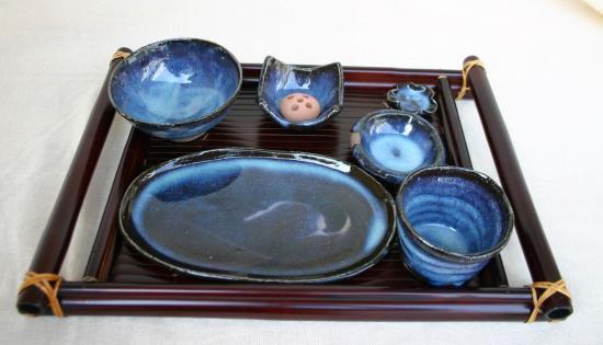 テーブルウェアセット 清玩ブルー