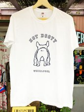 T-Shirt ★ BOOTY-M-White