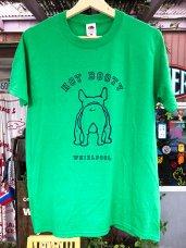 T-Shirt ★ BOOTY-Green
