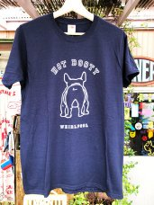 T-Shirt ★ BOOTY-Navy