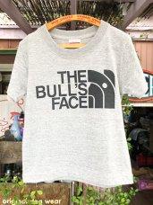 T-Shirt ★ 100 size BULLS FACE-Gray