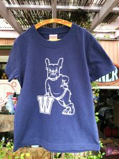 T-Shirt ★ 110 size W-Navy
