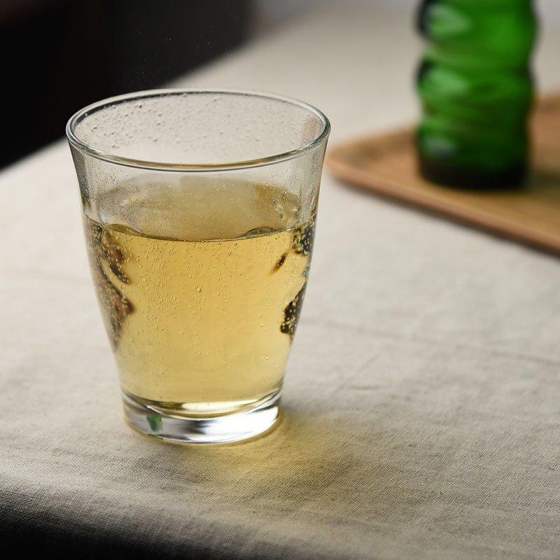 水玉がキュート♪ラッシュガラスタンブラー315(ガラスコップ)