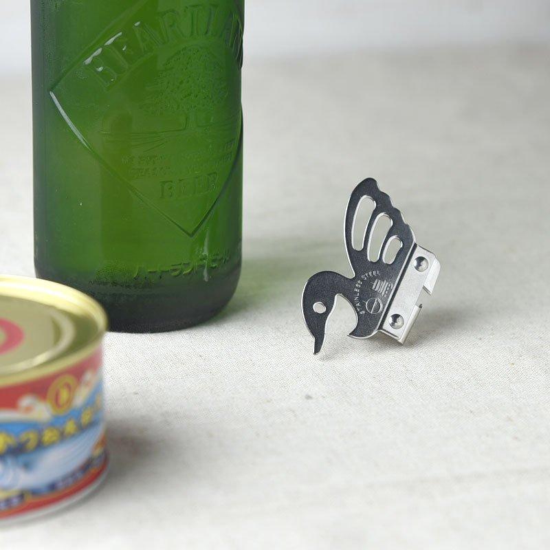【メール便対応】白鳥の缶切り/栓抜き