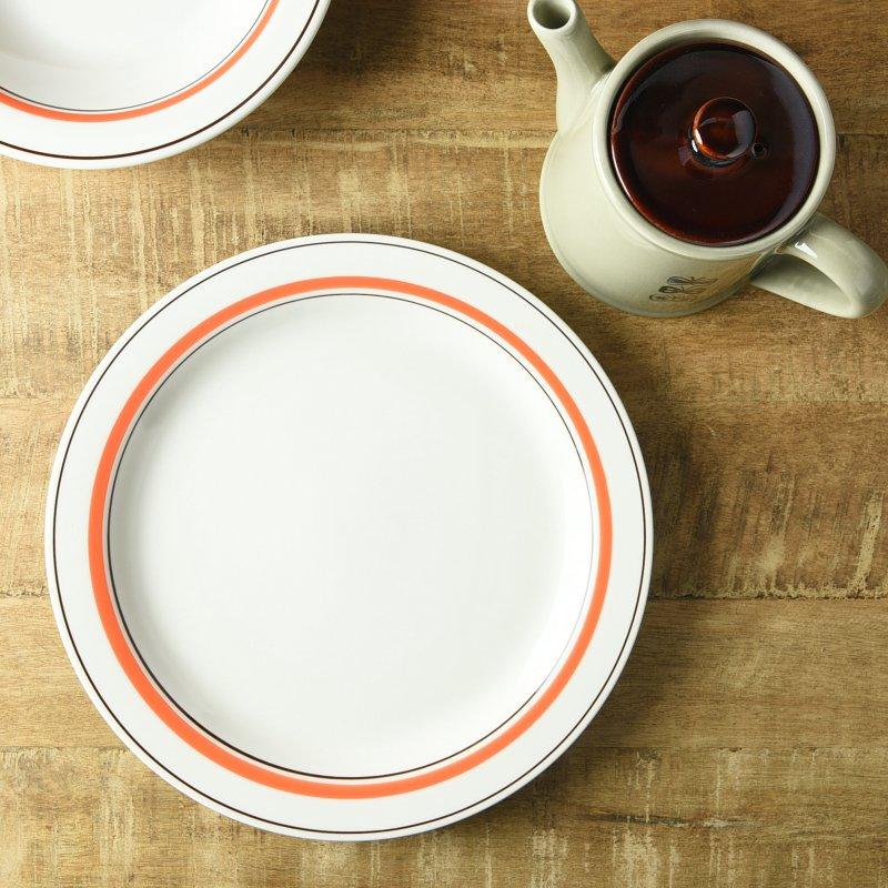 スノートンオレンジ 26.2cmディナー皿[アウトレット訳あり][美濃焼]