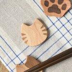 【メール便対応】Mio cat 猫カトラリー 箸置き トラ