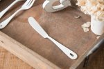 Blanc ホーローカトラリー バターナイフ[燕]
