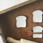 【メール便対応】箸置き 食パン[美濃焼]