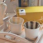 ★ラッピング無料★【箱入りペアセット】スクラッタ 9cmフリーカップ アースカラーセット[美濃焼]
