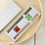 ★ラッピング無料★【ギフト】tetoca 手にとる果実 箸ギフト 柿&梅