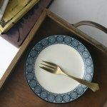 15cmロイヤルパターン 小皿[アウトレット訳あり][美濃焼]