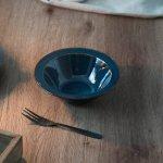 北欧ブルー 深ブルー 15.5cmサラダボウル[美濃焼]