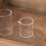 ガラスミニポット 太・低 (高さ:4.5cm)