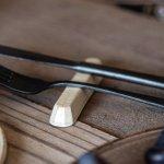 寿山窯 branche ブランシュ 10.5cmカトラリーレスト  バニラ[美濃焼]
