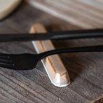 寿山窯 branche ブランシュ 10.5cmカトラリーレスト  モカ[美濃焼]