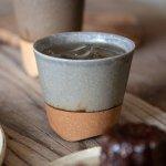 寿山窯 branche ブランシュ 8cmカップ(M)ラベンダー(高さ:7.5cm)[美濃焼]