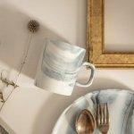 ★ラッピング無料★【箱入りギフト】東峰窯 Luca (ルカ) 10.5cmマグカップ オーブブラック[美濃焼]