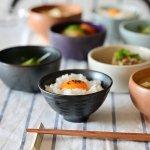 asumi(彩澄) なじみ茶碗 鉄黒[美濃焼]